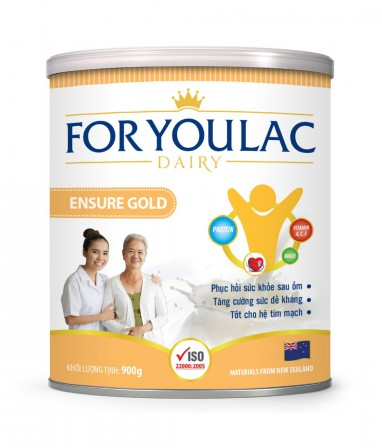 Sữa bột FORYOULAC ENSURE GOLD