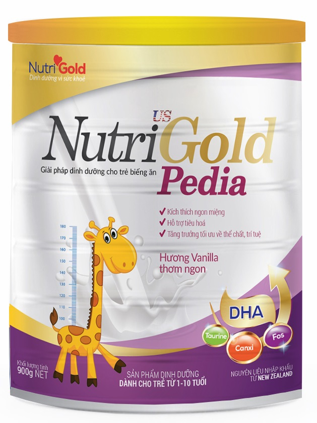 Nutri gold pedia 900g